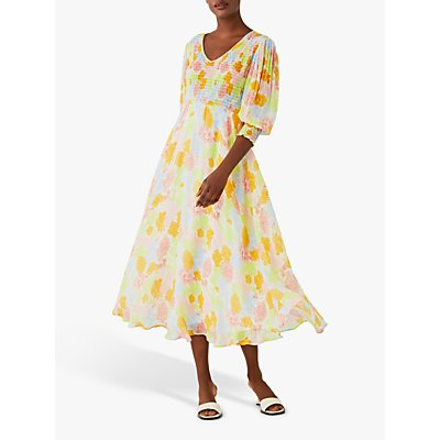 Ghost Tamsin Dress, Pastel Chrysanthemum