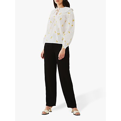 Ghost Daisy Top, White