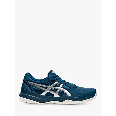 ASICS Children's GEL-GAME 7 GS Tennis Shoes, Mako Blue/Pure Silver