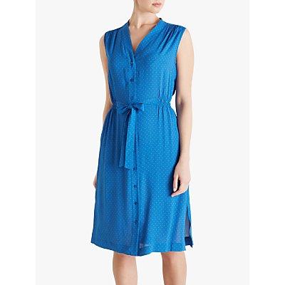 Fenn Wright Manson Daryl Dress, Blue/Apricot Spot