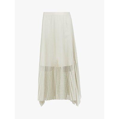 AllSaints Meya Maxi Skirt, Grey