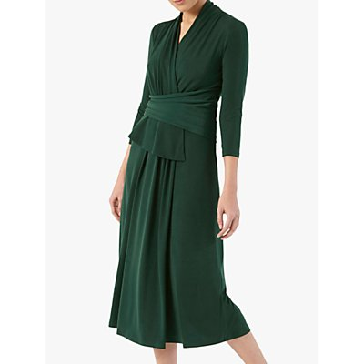 The Fold Arlington Midi Dress, Green