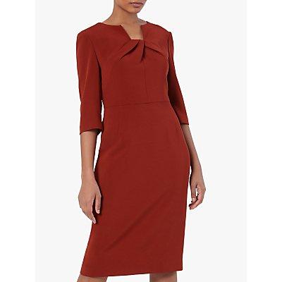 The Fold Waverley Dress, Red