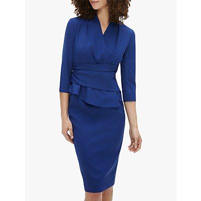 The Fold Arlington Dress, Indigo Blue