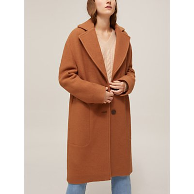 See By Chloé Cocoon Wool Coat, Camel