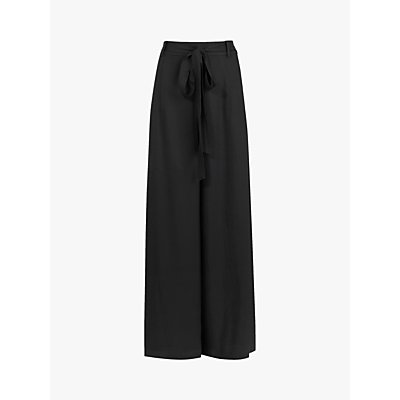 AllSaints Tami High Rise Wide Leg Trousers