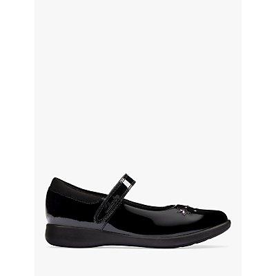 Clarks Children s Etch Bright Mary Jane School Shoes - 5050410647635