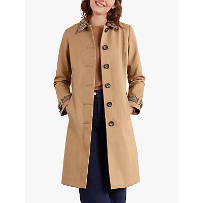 Boden Mark Trench Coat, Camel