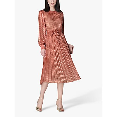 L.K.Bennett Felix Dress, Rouge/Multi