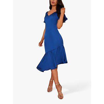 Chi Chi London Shayne Dress, Cobalt