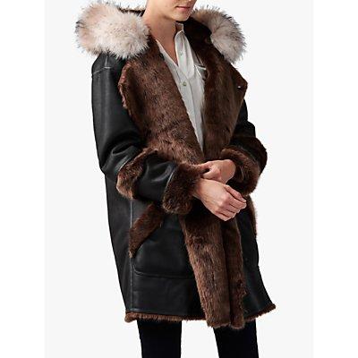 urbancode Faux Fur Reversible Parka Coat