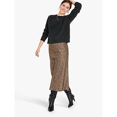 hush Simone Slinky Leopard Maxi Skirt, Multi