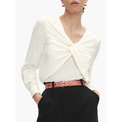 The Fold Ayrsh Blouse, Ivory