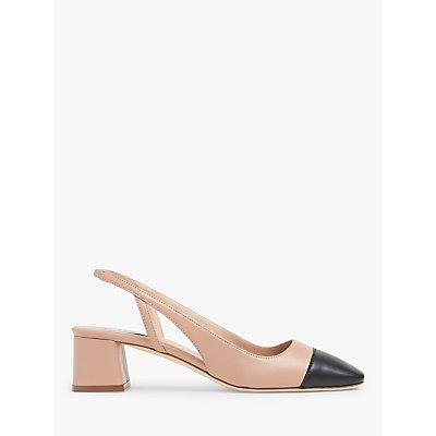 L.K.Bennett Hattie Leather Slingback Shoes