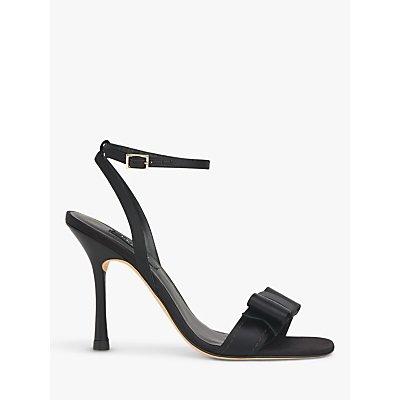 L.K.Bennett Nancy Satin Sandals, Black