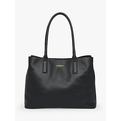 L.K.Bennett Lillian Leather Tote Bag, Black