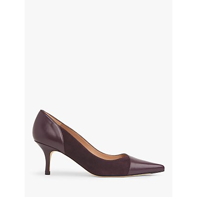 L.K.Bennett Fleur Leather Court Shoes