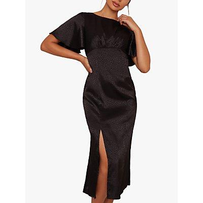 Chi Chi London Danikah Dress, Black