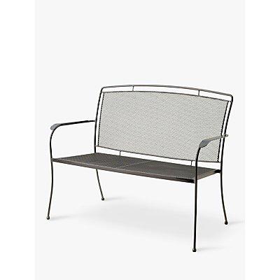 John Lewis & Partners Henley by KETTLER 2-Seat Garden Bench