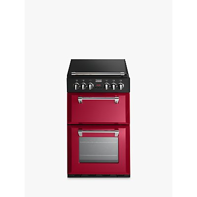 Stoves Richmond 550E Electric Mini Range Cooker  Jalape  o Red - 5034648490133
