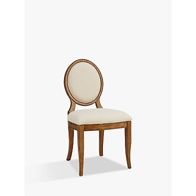 John Lewis & Partners Hemingway Dining Chair, Cream