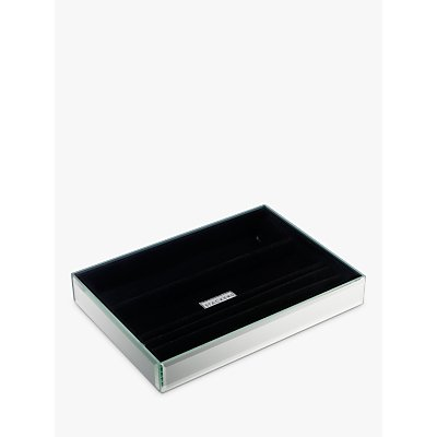 Stackers Glass Jewellery Tray  4 Section - 5013648008012