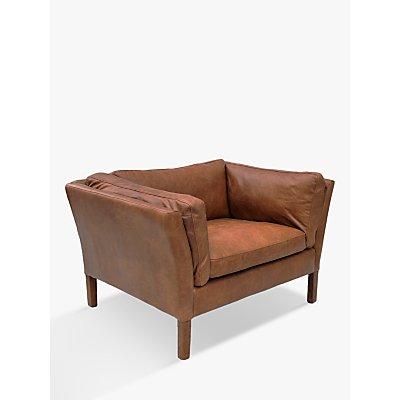 Halo Groucho Aniline Leather Armchair