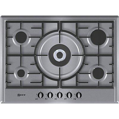 Neff T25S56N0GB 5 Burner Gas Hob   Stainless Steel - 4242004126133