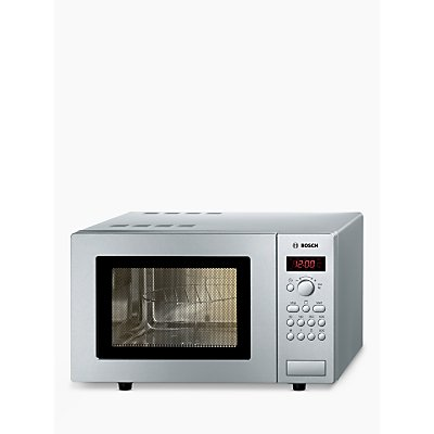 Bosch HMT75G451B Microwave Oven with Grill, Silver