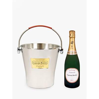 Laurent-Perrier Brut Champagne In Ice Bucket, 75cl