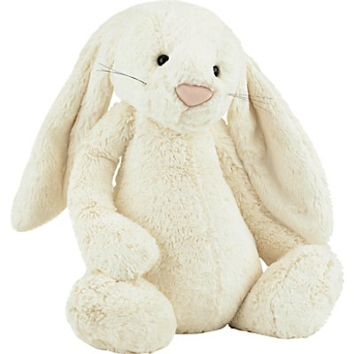 Jellycat Bashful Bunny Soft Toy, Huge, Cream