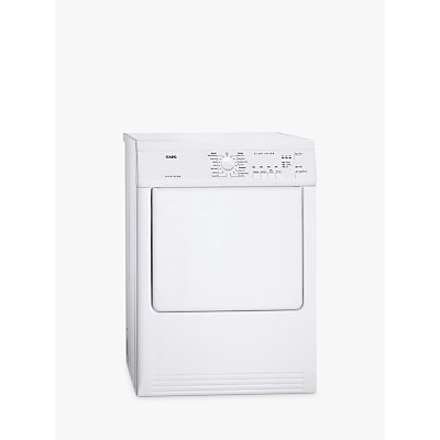 AEG T65170AV Vented Tumble Dryer, 7kg Load, C Energy Rating, White