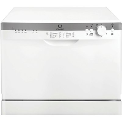 Indesit ICD661 dishwashers table top  in White 8007842752977