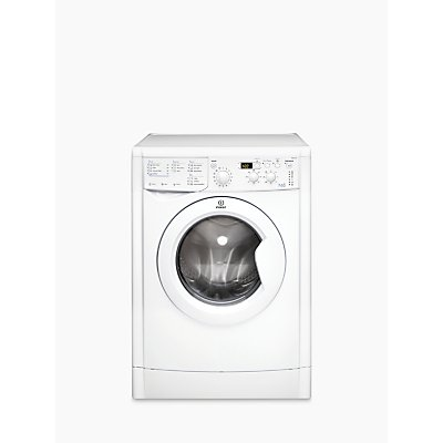 Indesit IWDD7143 Ecotime Washer Dryer, 7kg Wash/5kg Dry Load, B Energy Rating, 1400rpm Spin, White