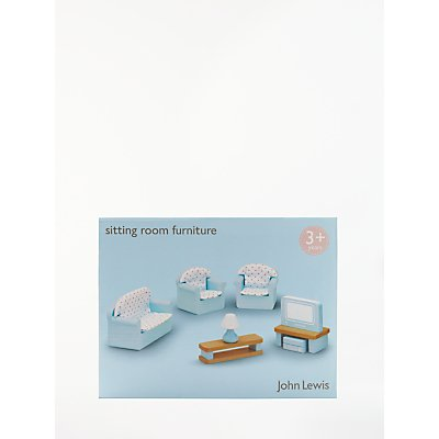 John Lewis & Partners Doll's House Accessories, Living Room Furniture