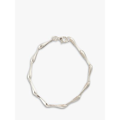 Nina Breddal Sterling Silver Link Bracelet - 21679582