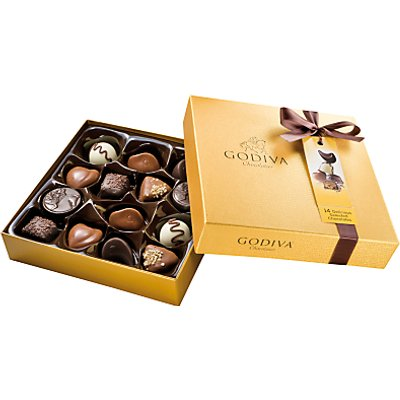 Godiva Gold Chocolate Box, 165g