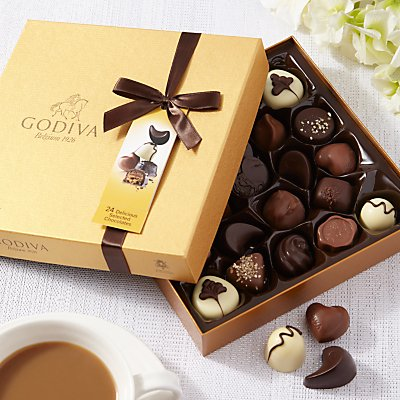 Godiva Gold Chocolate Box, 290g
