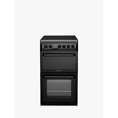 5016108810088 | Hotpoint HAE51KS Electric Cooker  Black