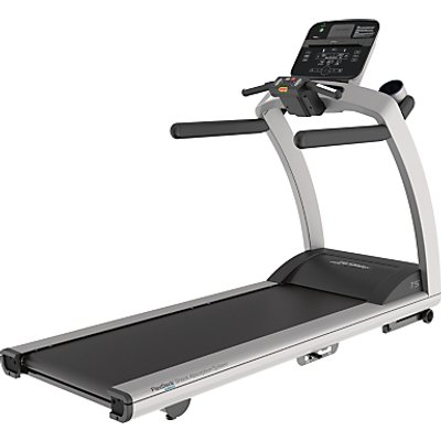 Life Fitness T5 Treadmill, Track Connect Console, Silver