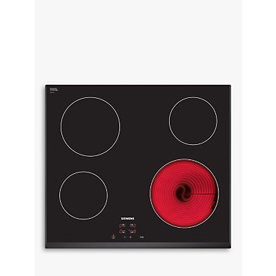 Siemens ET651HE17E Ceramic Hob  Black - 4242003614563