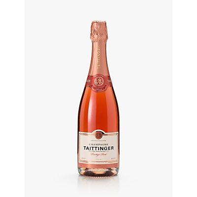 Taittinger Rose and 2 Glasses Set, 75cl