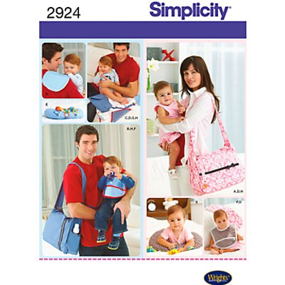 Simplicity Bags Sewing Leaflet  2924 - 039363316879