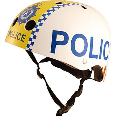 Kiddimoto Police Scooter & Bike Helmet, Small