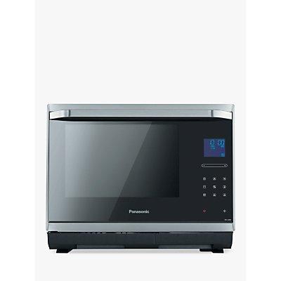 Panasonic NN-CS894SBPQ Combination Steam Microwave Oven, Stainless Steel