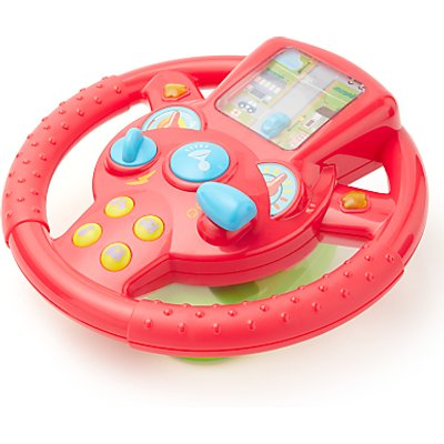 John Lewis & Partners Interactive Steering Wheel Toy