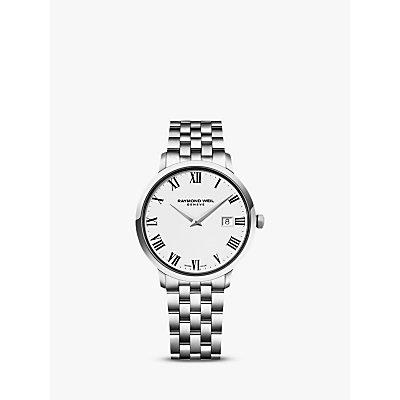 Raymond Weil 5485 ST 00300 Men s Toccata Stainless Steel Bracelet Strap Watch  Silver White - 7611784045243