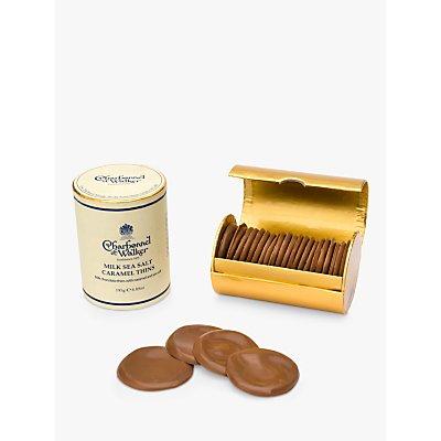 Charbonnel et Walker Sea Salt Caramel Milk Chocolate Thins, 195g