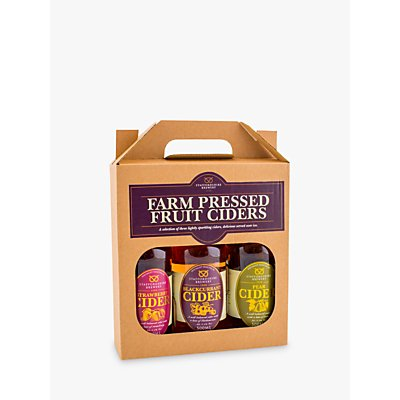 Staffordshire Brewery Farm Pressed Fruit Ciders Set, 3 x 500ml