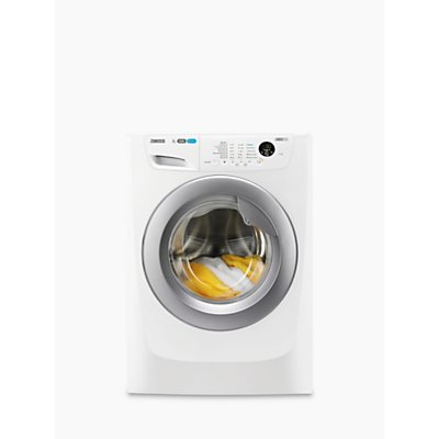 Zanussi ZWF81463WR Freestanding Washing Machine, 8kg Load, A+++ Energy Rating, 1400rpm Spin, White